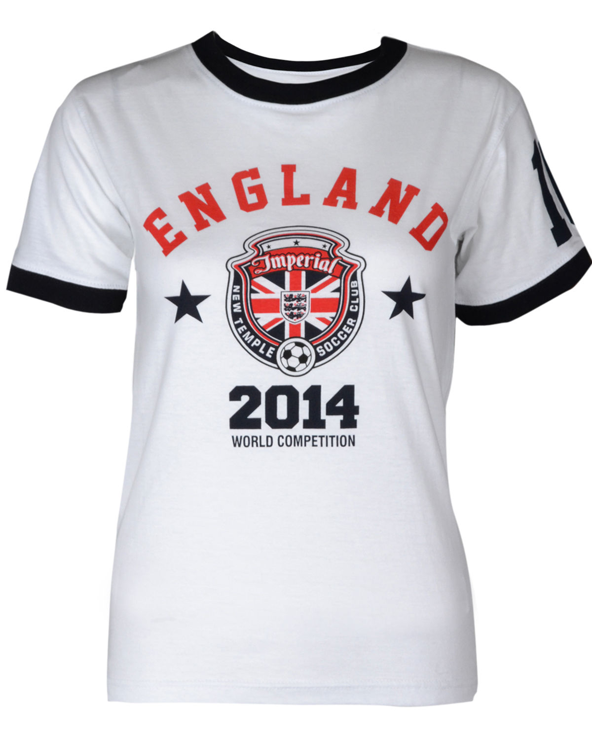 Womens wholesale world cup 2014 england football tshirt for Cheap football shirts sports direct