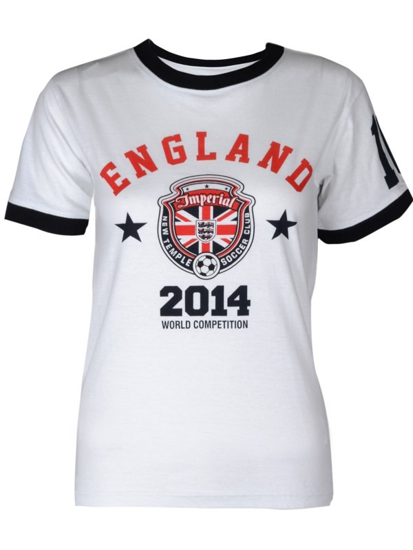 World Cup 2014 England Football Tshirt