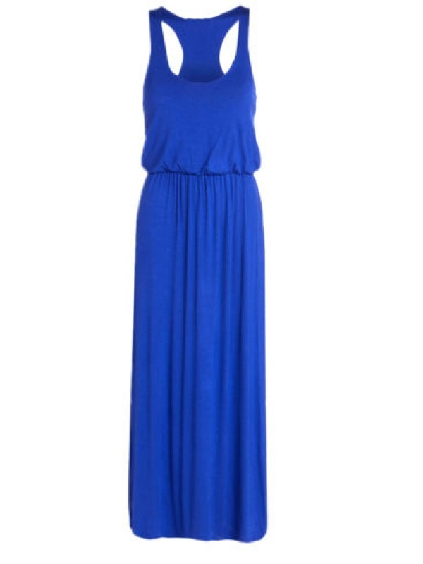 Balloon Toga Maxi Racer Back Dress