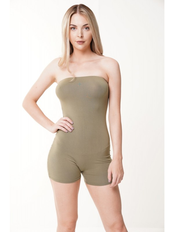 Bandeau Cycling Playsuit