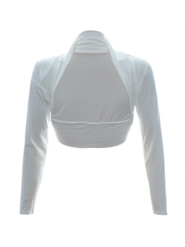 Long Sleeve Bolero Shrug