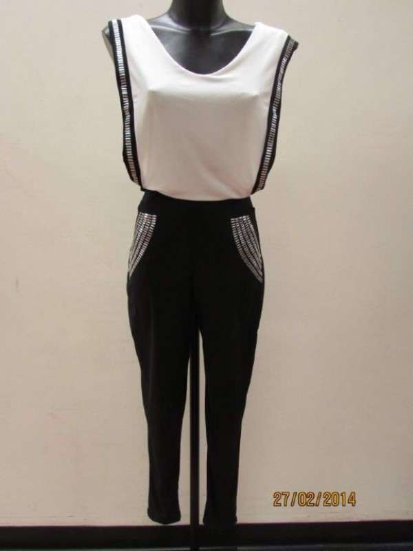 Ruffle Bodycon Jumpsuit