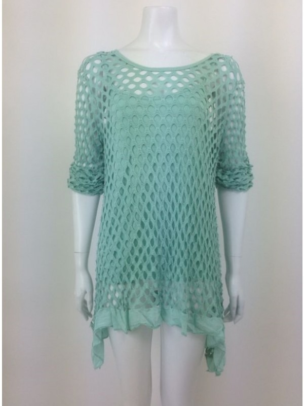 Crochet Knitted Top