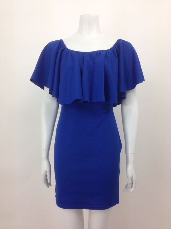 Frill Bodycon Dress