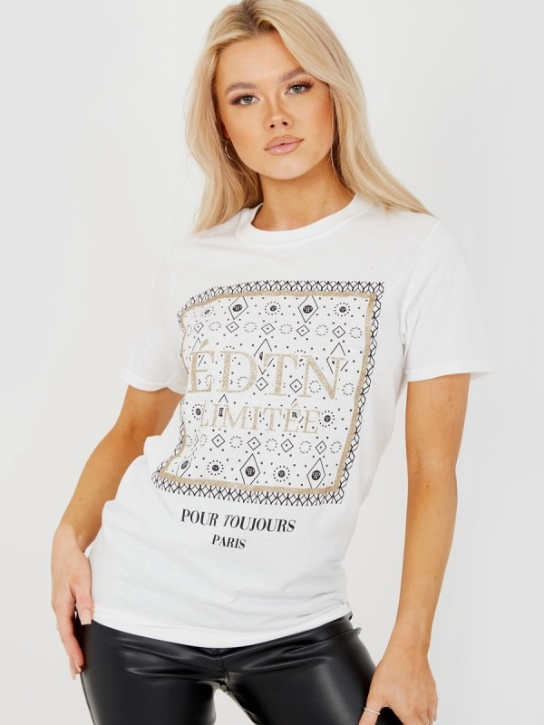 EDTN LIMITEE Graphic Printed T-Shirt