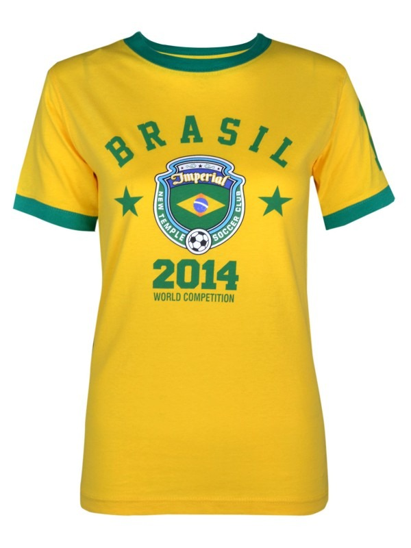 World Cup 2014 Brazil Football Tshirt