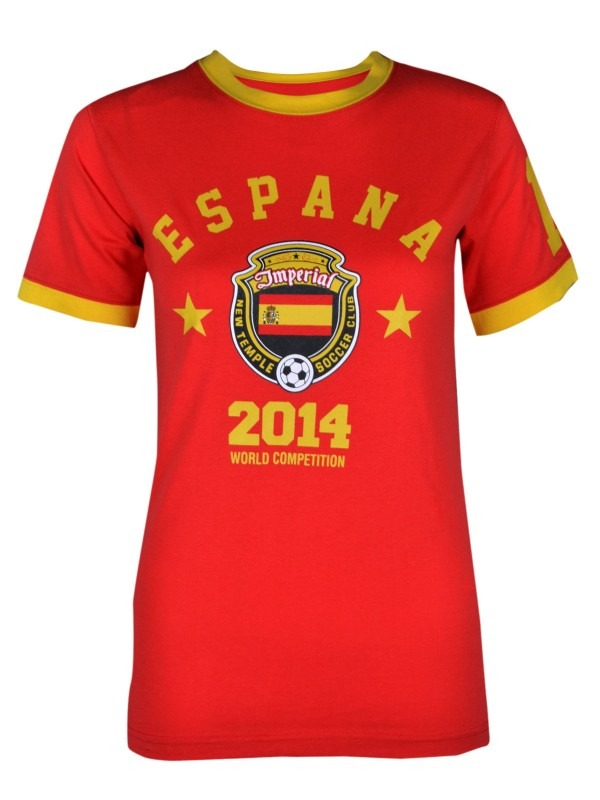 World Cup 2014 Spain Football Tshirt