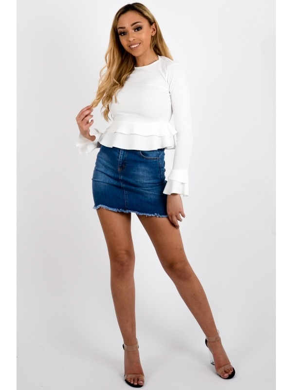 Frill Layered Top