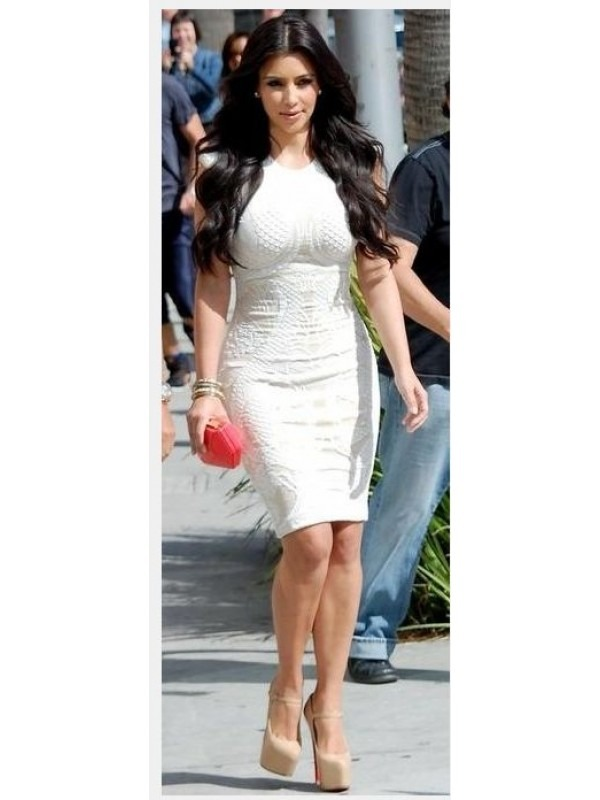 Celebrity Bodycon Midi Dress