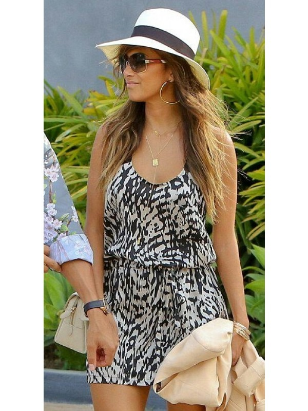 Celebrity Nicole Inspired Cross Back Dress