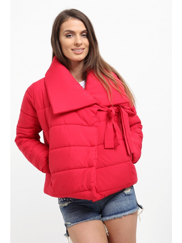 Wrap Front Padded Coat