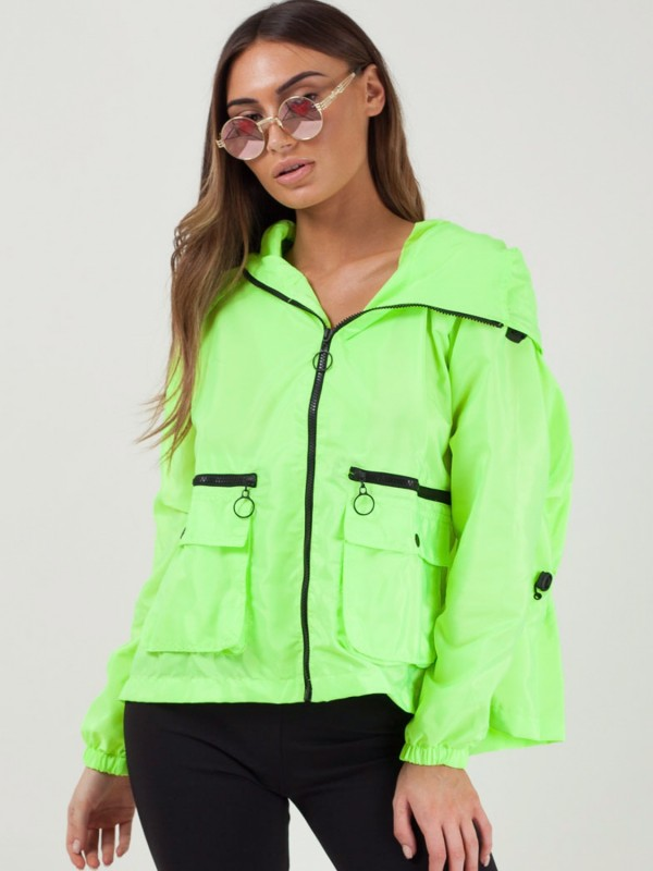 Hooded Rain Parka Festival Jacket