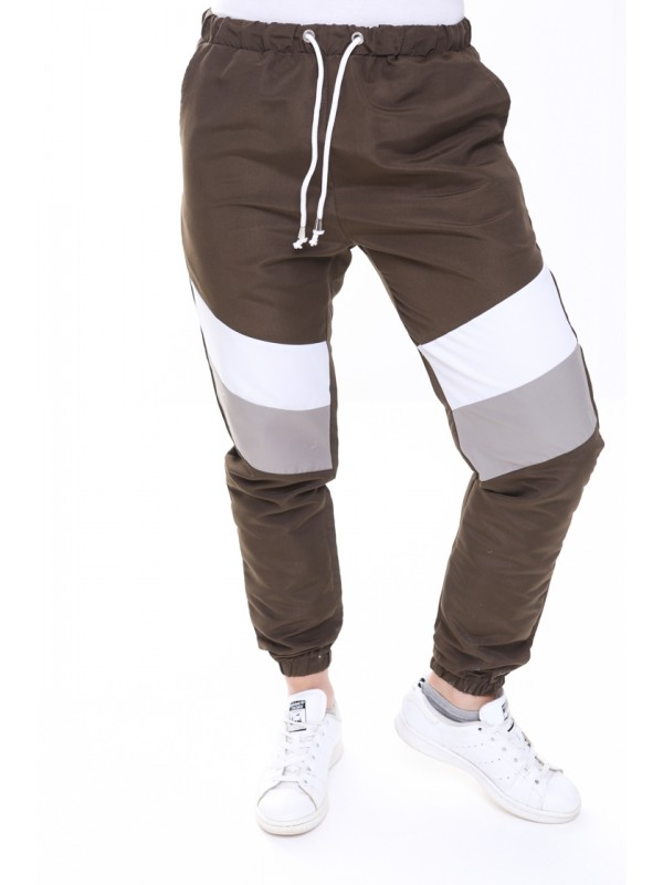Contrast Panelled Festival Joggers