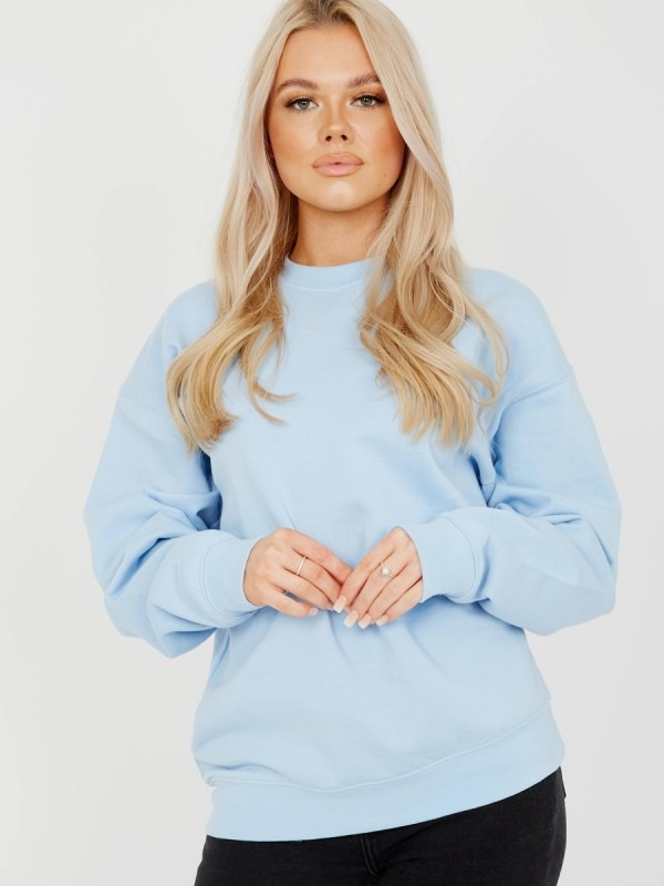 Plain Sweatshirt Jumper