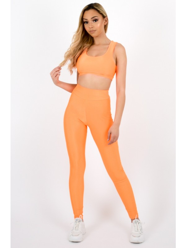 Bralet & Leggings Activewear Co-ord Set