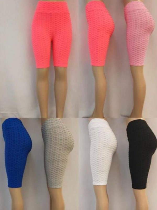 Texture Detail Active-wear Cycling Shorts Multi Pack