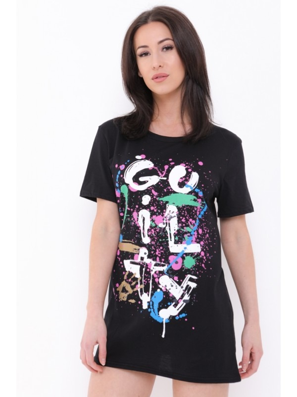 Paint Splatter Guilty T-Shirt