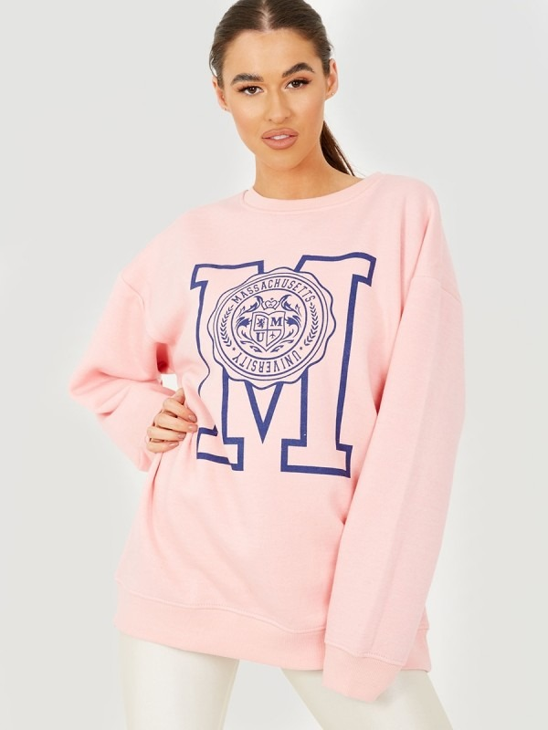 Massachusetts University Graphic Sweatshirt Jumper