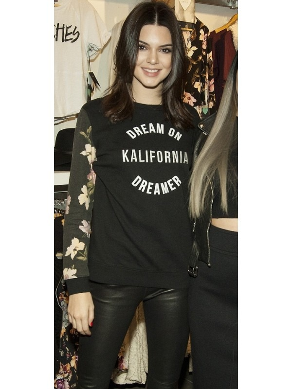 Celeb Kendall Inspired California Floral Jumper
