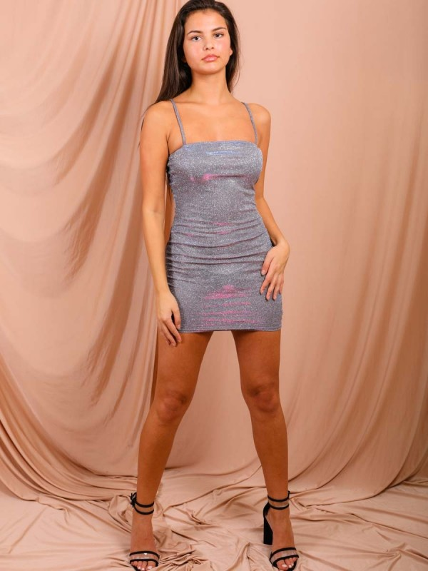Shiny Glitter Cami Dress