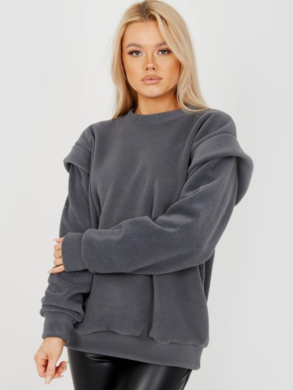 Thick Fleece Sweatshirt