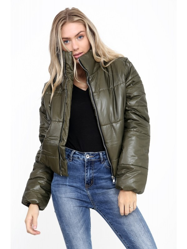 Short Padded Puffer Jacket