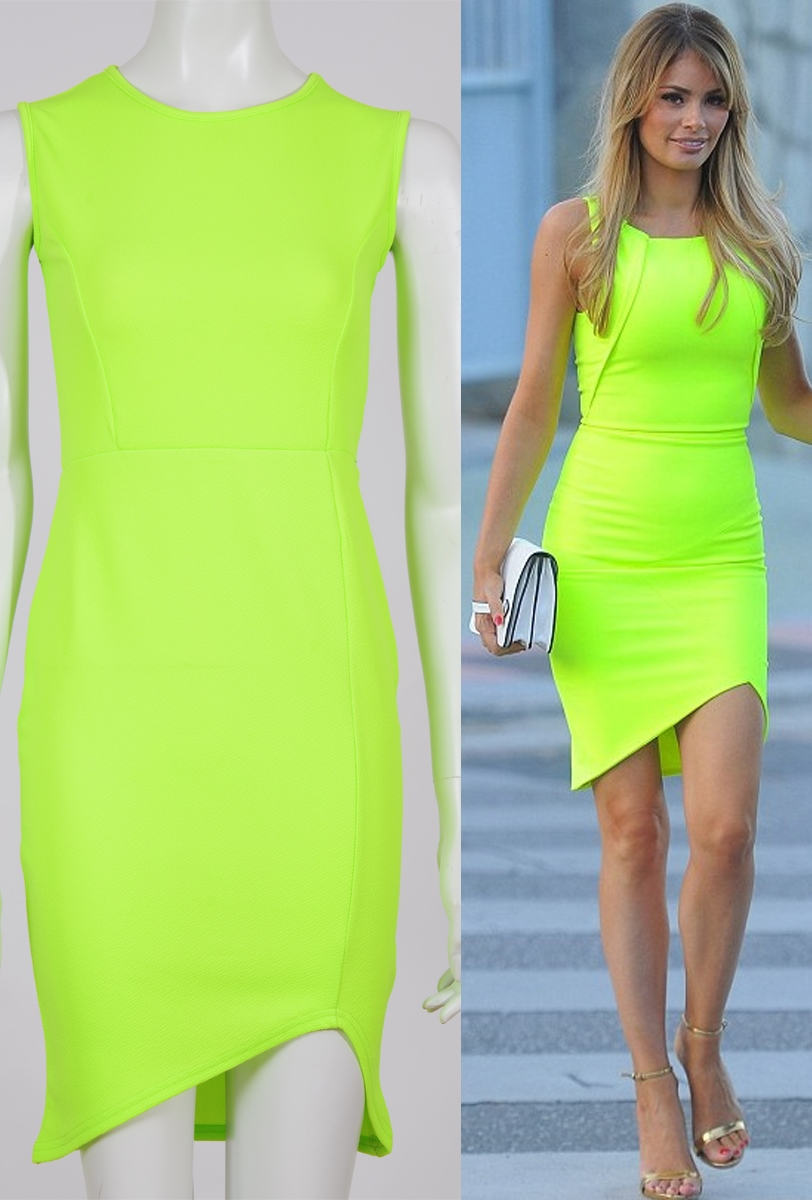 Womens wholesale celebrity chloe inspired neon crepe for Celebrity t shirts wholesale